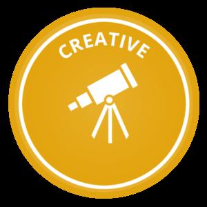 Creative voice icon