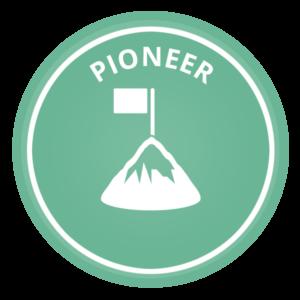 Pioneer voice icon